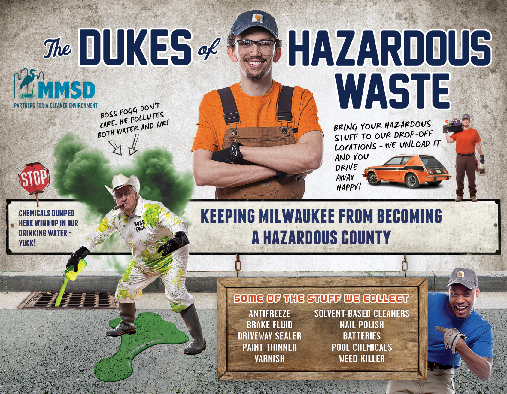 "MMSD ""Dukes of Hazardous Waste"" Flyer"