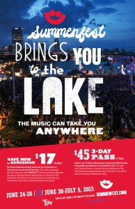 "Summerfest ""Lake"" ad"